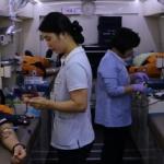 평창소방서 직원 사랑의 헌혈 동참