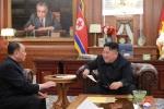 북한 김영철, 김정은에 방미결과 보고