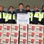 홍천군 모범운전자회 후원품 기탁