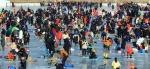 인제빙어축제 개막, 첫 주말 '인산인해'