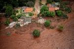 브라질 댐 붕괴사고 40명 사망