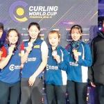 춘천시청 여자컬링팀 월드컵 우승