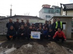 홍천 청경기업 연탄 전달