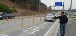 노암동∼국도7호선 연결도로 기형 사고위험