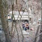 영월서 덤프트럭 100m 아래 경사지로 추락…운전자 1명 사망