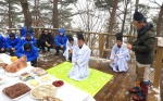 정선 정월대보름 염장봉 제례 봉행
