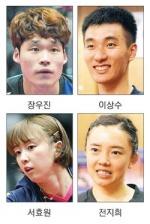 장우진, 탁구 세계선수권 출격
