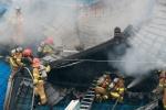 청량리농수산물시장 화재…점포 3곳 태우고 불길 잡혀