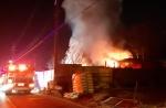 원주 고물상 내 주택화재…불 끄려던 남편 숨져