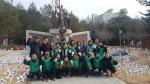 화천군새마을회 태극기바람개비 설치