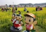 삼척 유채꽃 가득한 축제장