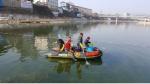 홍천문화재단 수중 환경정화 구슬땀