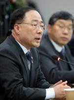 """홍남기, IMF 추경 권고에 """"미세먼지 추경 고려되면 함께 검토"""""""