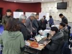 원주 조합장선거 투표 행렬