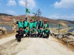 홍제동 새마을협 꽃나무 심기