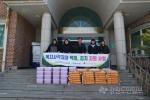 횡성군사회복지협의회, 복지사각지대 백미 및 김치 전달