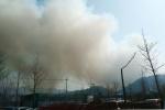 인제 산불 초속 6.5m 강풍 타고 번져
