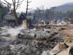 동해 망상오토캠핑리조트 잿더미…옥계 산불 피해 심각