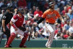 MLB 크리스 데이비스, 3안타 폭발…54타수 무안타와 작별