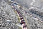 [화보] 소양강댐 용너미길 걷기대회 성황