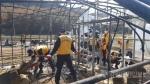 강릉경찰서, 옥계산불피해지역 복구활동 지원