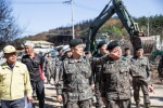 육군참모총장 속초 방문