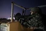 제18전투비 야간 기지방호 훈련 실시