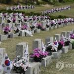 여야 지도부, 4·19 기념식 집결해 희생자 추모