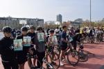 [강원자전거대회 이모저모]자전거 안전모 의무착용 독려