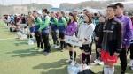 도지사배 생활체육 풋살대회 개회식
