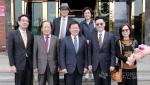 주한 타이완 대사 양구 방문