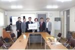 한국시니어클럽 강원산불피해 성금 전달
