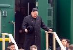 김정은, 전용열차로 러 하산역 도착…환영행사 후 다시 블라디行