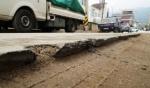양구 시내 곳곳 파헤쳐진 도로 안전위협