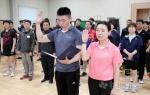양구군수기 종합탁구대회 개회식