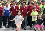 노동절 마라톤 달리는 당 대표들