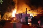 양구 비닐하우스 화재 발생