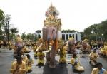 태국 국왕 대관식 기념 코끼리 행진