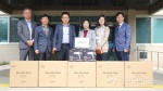 한국여성수련원, 산불 이재민 생활가전 성품 후원