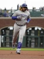 MLB 슈퍼루키 게레로 주니어, 드디어 터졌다…구단 최연소 홈런