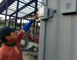 산불로 문닫은 폐차장에 전력량계 설치 논란