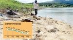 최악 가뭄 2015년보다 5월 강수 적어, 저수지 바닥 드러나