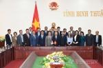 평창군-베트남 빈투언성 국제교류 우호협력 간담회