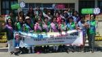 속초여성단체협의회 저출산 극복 캠페인