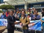 동해안 산불피해지 '희망투어' 관광객 방문