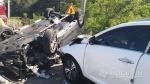 양양 현북면 38선 휴게소 인근 도로서 교통사고…4명 부상