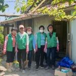 강남동 새마을부녀회 주거환경 개선 봉사