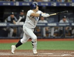 최지만, 시즌 4호 홈런 폭발…멀티히트 작성