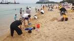 속초해변 오월 바다도 뜨겁다
