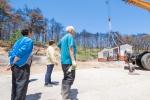 고성 용촌리 이재민 거주주택 설치